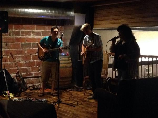 . @_benwindheim_ playing with Ben Rice this evening at Fox Farm Wine Bar. http://t.co/wBb8QzN6ER
