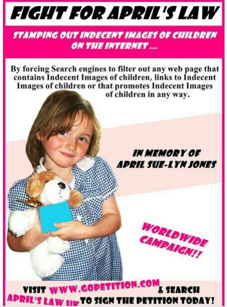 RT @AprilsLawUK: @NolanColeen Please could you RT the petition set up by the parents of #AprilJones http://t.co/LQR1mdO2AN http://t.co/juJ7…