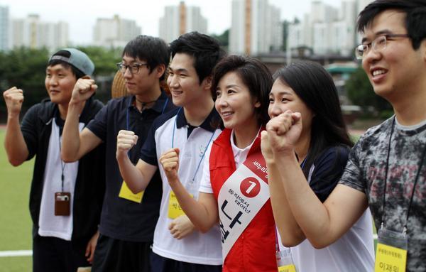[나경원캠프] 청년의 힘으로 동작을 지켜내겠습니다. 나경원과 함께 청년이 행복한 나라 반드시 만들어가요.... http://t.co/CpybPs8t96