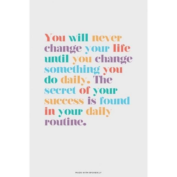 Thought for Monday and it really is true, when healthy habits become routine is when they start and stick. It mig... http://t.co/FAoBiDcYSR