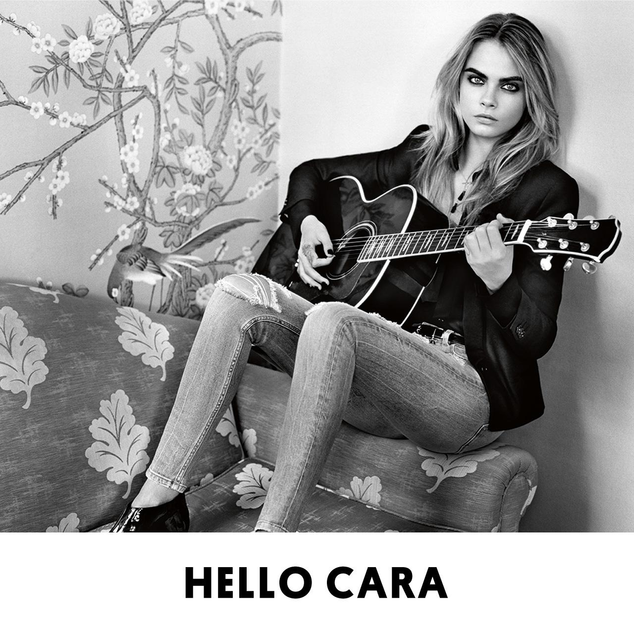 RT @Topshop: Guess who? Our campaign girl for AW14 is the one and only @CaraDelevingne #ilovetopshop http://t.co/dP4fxrp4dZ  http://t.co/Ty…