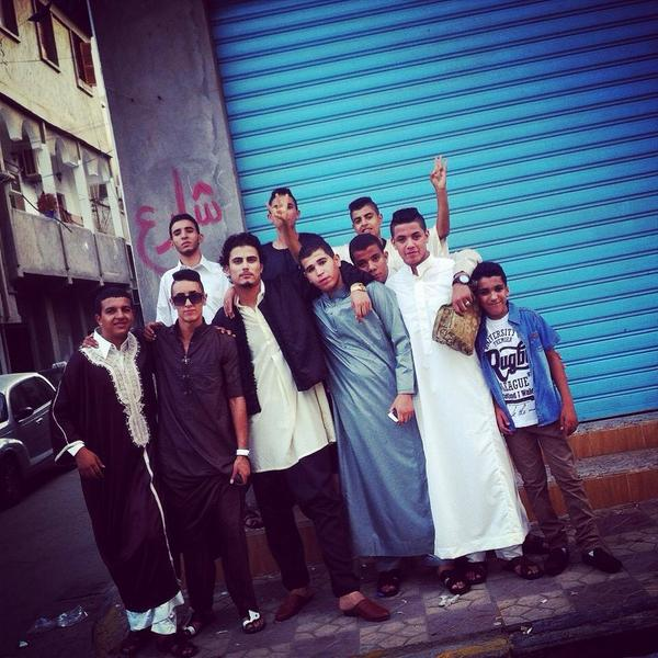 My squad in Libya sending me there Eid pictures 😂😂😂😂 http://t.co/jmOh6l9wo7