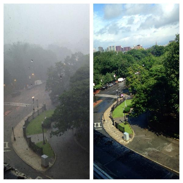 If you don't like the weather in Boston, wait 5 minutes http://t.co/z4v3dk6dPF