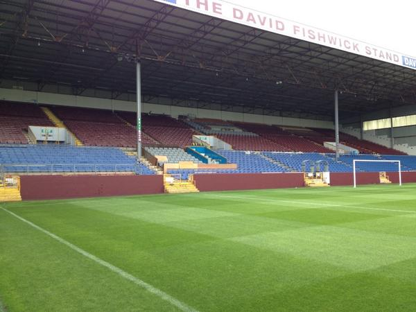 "David Fishwick >> Burnley FC on Twitter: ""The David Fishwick Stand. Looking good! http://t.co/lYddZ7zyLb"""