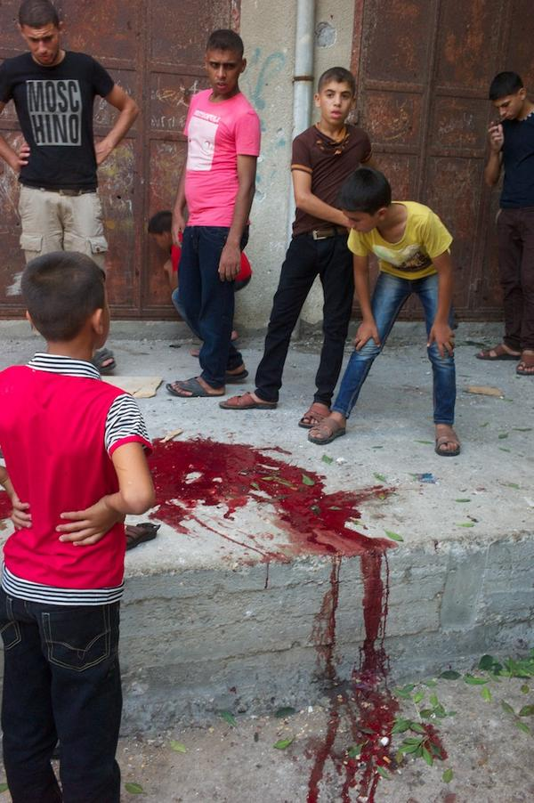 Appalling the loss of innocence we are seeing across Gaza. Children shouldn't have to see this. http://t.co/iT2pDwr03l