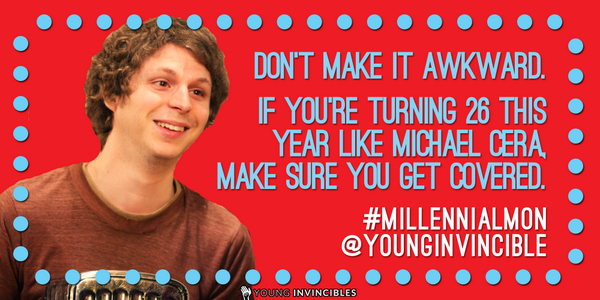 TODAY - #MillennialMon chat with @HHSGov on how to stay covered at age 26! 3pm ET. #bornin88 http://t.co/meZ0aUrZME