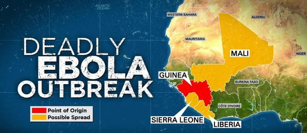 Thumbnail for West African Ebola Virus Disease outbreak, from mid-July 2014