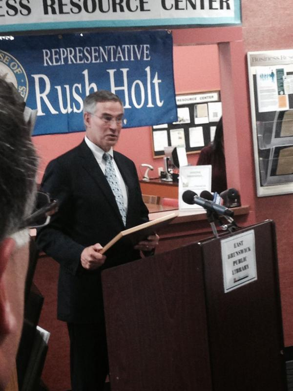 Thumbnail for Workforce Investment Act Signing Celebration at East Brunswick Public Library with Congressman Rush Holt