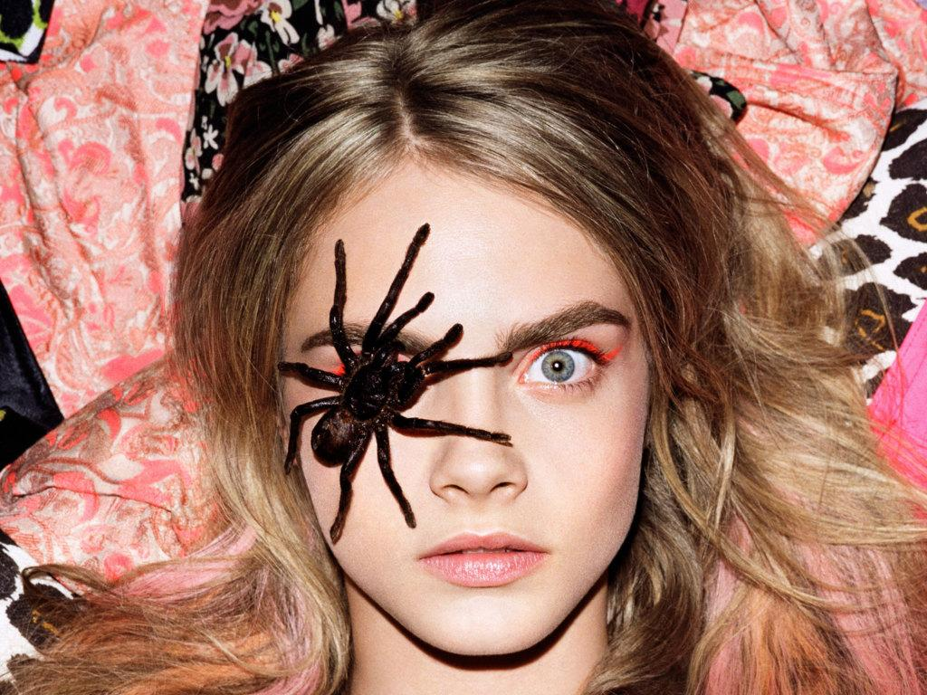"RT @i_D: ""How much wood could a wood chuck chuck if a wood chuck could chuck wood?"" @Caradelevingne: http://t.co/UuxH7ziHIJ http://t.co/VxE…"