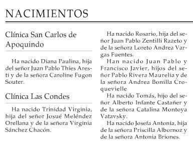 Pareja de Lesbianas anuncian nacimiento de su hija en El Mercurio Vía @AgrupalesbicaRS http://t.co/k0w7UR1zov