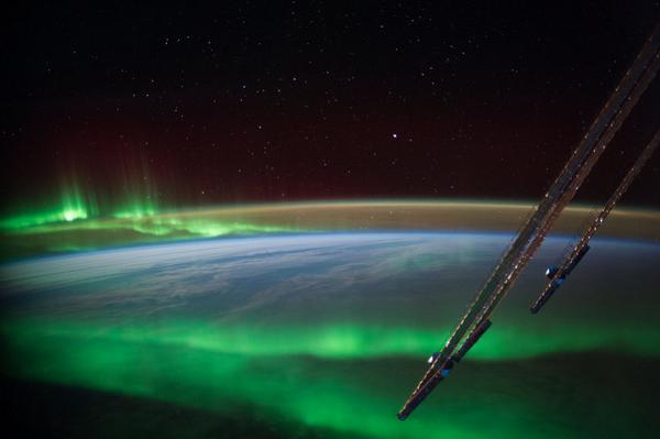 La spettacolare vista della Terra dallo Spazio