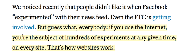 """No, this is not """"how websites work."""" This is how websites work if we make them work this way. http://t.co/ktvw5uh21v"""