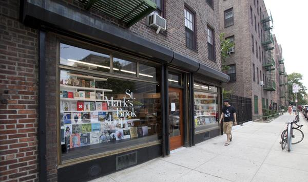 Now open! @stmarksbookshop on the ground floor of NYCHA's First Houses. Stop by their new store on 136 E 3rd St! http://t.co/WOvVNOnC4z