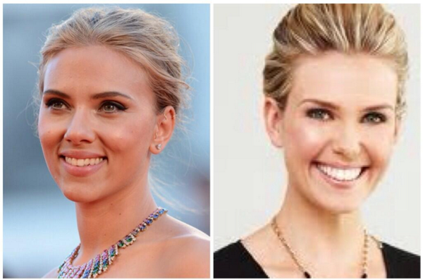 "Scarlett Johansson Twitter: Sunrise On Twitter: ""Do You Think @edwina_b Looks Like"