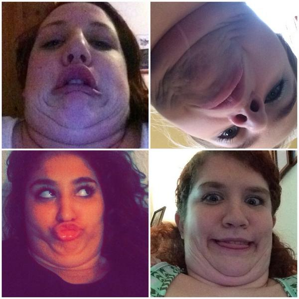 Image result for snapchat selfie double chin