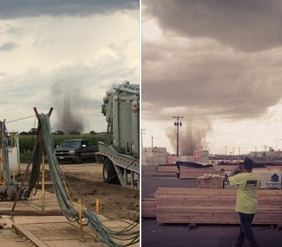 "ABC News On Twitter: ""Denver Int'l Airport: ""A Tornado Has"