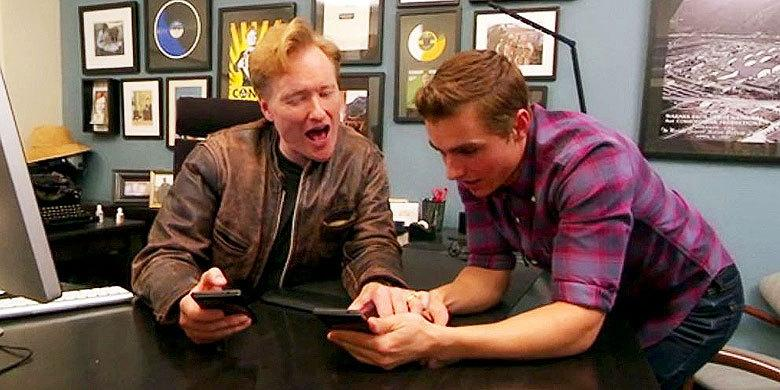 Dave Franco & Conan's Hilarious Attempts To Meet Beautiful Women Using The Tinder App http://t.co/tPPwR7ym4c http://t.co/gSaYrAqiqm