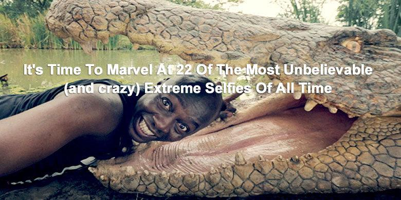 It's Time To Marvel At 22 Of The Most Unbelievable (and crazy) Extreme Selfies Of All Time http://t.co/fCoPek5tdl http://t.co/aILsTBikMb