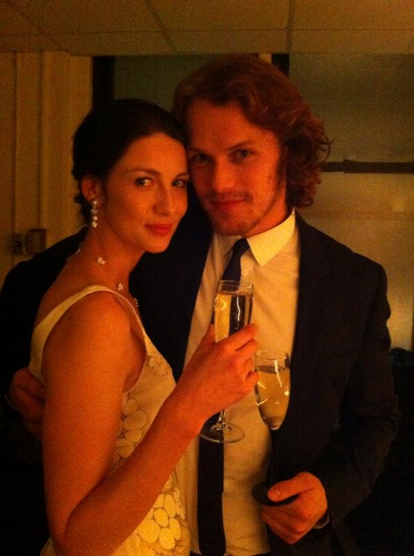 Are caitriona and sam heughan dating