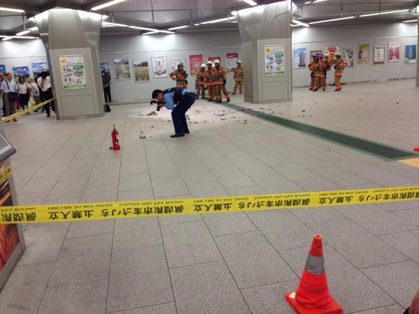 浦和駅で爆発。 pic.twitter.com/nnFnBFwTsp