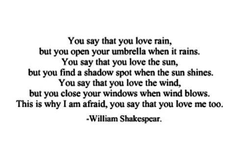 Kaytie Lueke On Twitter You Say You Love Rain But You Open Your