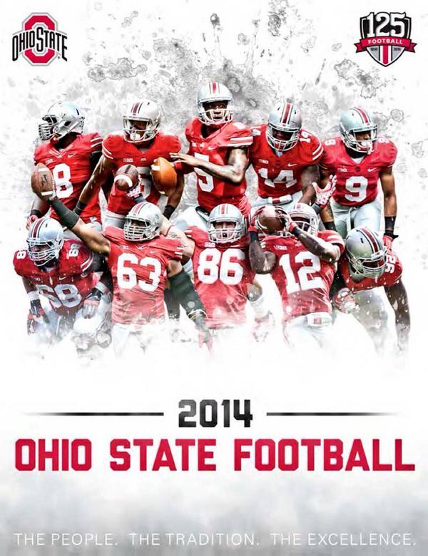 2014 Ohio State Buckeyes Football Media Guide | Eleven ...