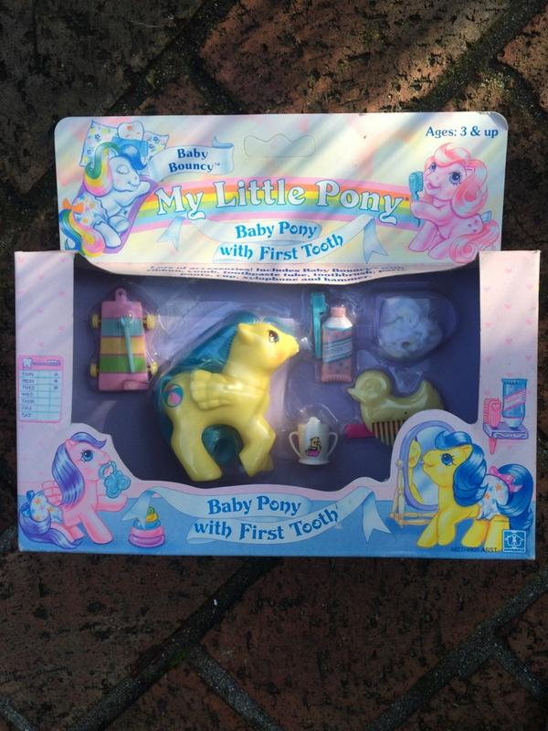 Hey internet people - do any of you know what a mint in box #MyLittlePony from 1987 would be worth? http://t.co/WRl95rHePN