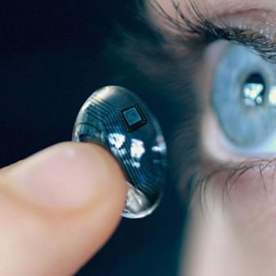 La lente intelligente a contatto di Google per diabetici