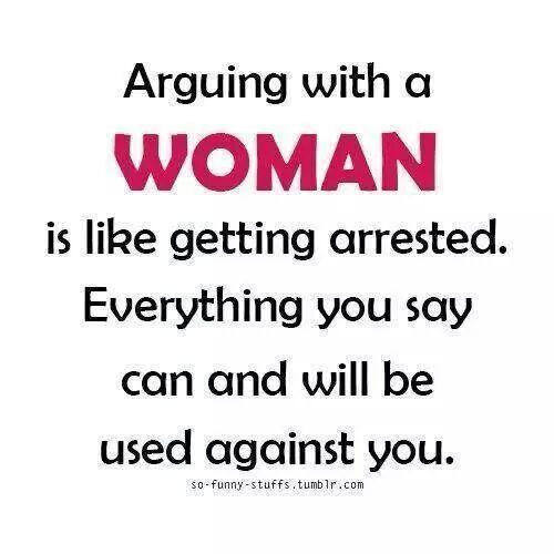 Why women like to argue