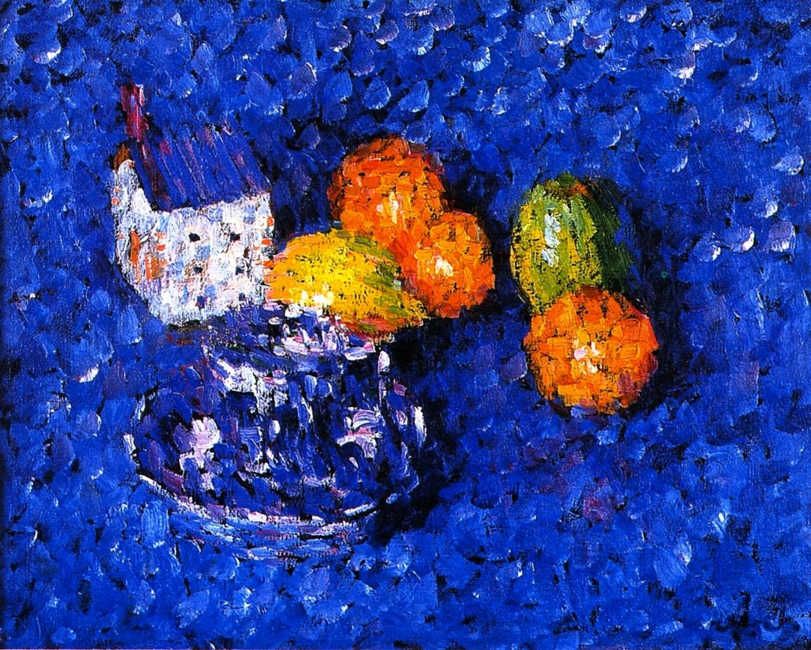 Still LIfe Blue-Orange