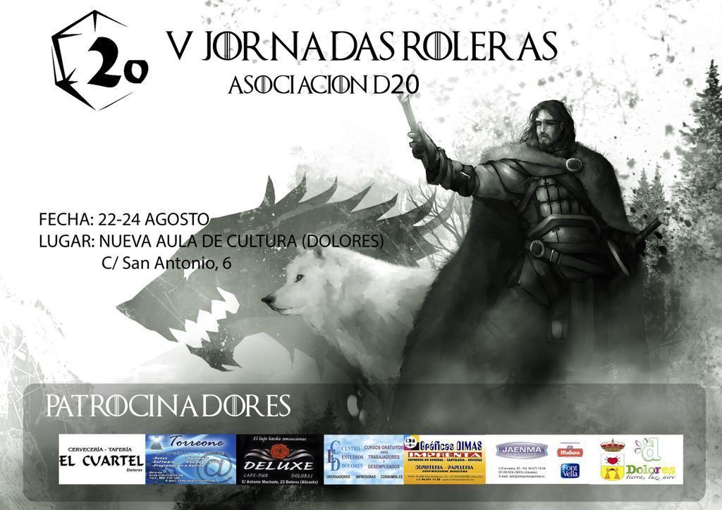 V JORNADAS ROLERAS ASOCIACION D20 BttSwmoCIAE6wpR