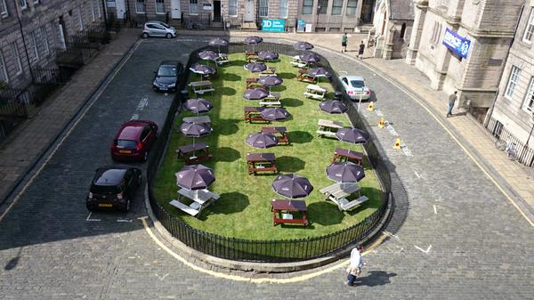 Ooooh, loving this Festival Garden at Hill Square #edfringe #Edinburgh pic by @SrgnsHallEvents http://t.co/RnDhWi0Seb