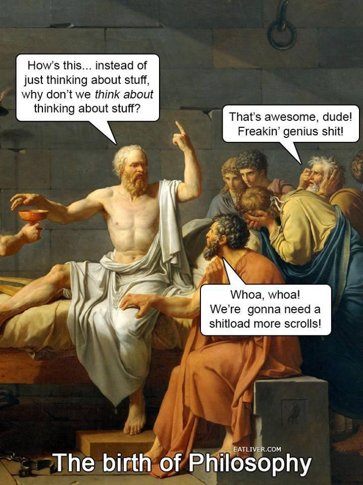 Twitter / JoyAndLife: The birth of Philosophy.. ...