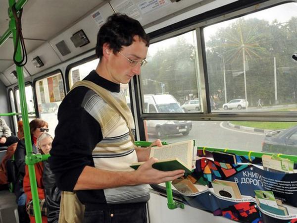 По Курску проедет «Читающий троллейбус»