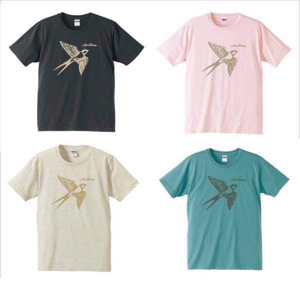 今年も八戸代表バンドRe:TurnのTシャツをデザインさせてもらいました。今週のライブから販売開始みたいなので、八食フェス参加の皆さんも是非ゲットして着用写メ送ってください! http://t.co/YLhqahiUyN