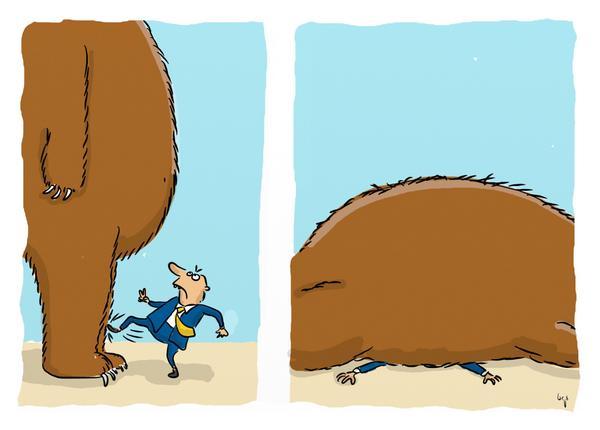 #EU-#Sanktionen: So zwingt man den russischen Bären endlich auf die Knie http://t.co/8uxmlUu42s #Putin #Russland http://t.co/leuINhYyQK