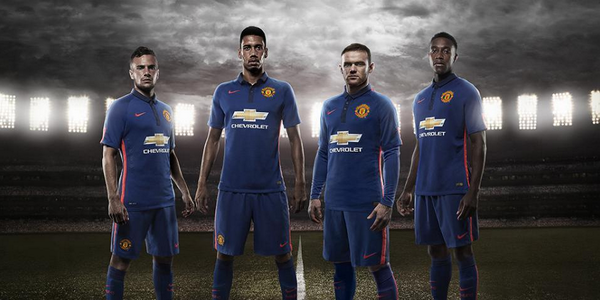 Man United unveil new blue third kit set to be first worn in friendly v Inter tonight [Pictures]
