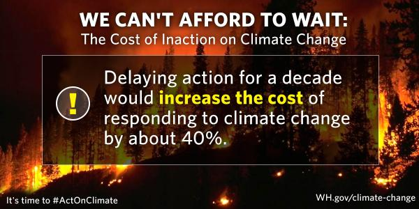 Thumbnail for #WHClimateChat with @CEAChair: The Cost of Inaction