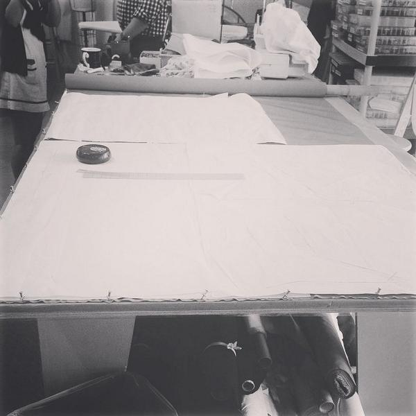 Pattern cutting the piece Margaret will wear in the final episode. #reliveboardwalk @hbo... http://t.co/JDRMt6D76F] http://t.co/iJ5eh5egrQ
