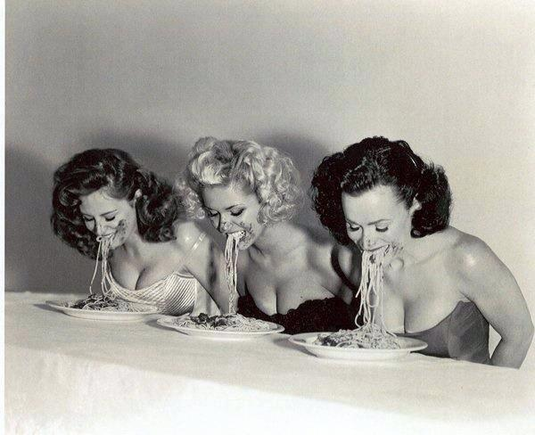 PIn-up spaghetti eating contest http://t.co/1AowXSN45H