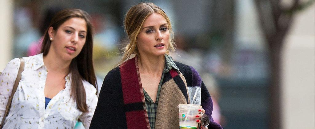 Ponchos are happening — just ask Olivia Palermo http://t.co/HXPxQFJ6g6 http://t.co/mFmWWwIZzz
