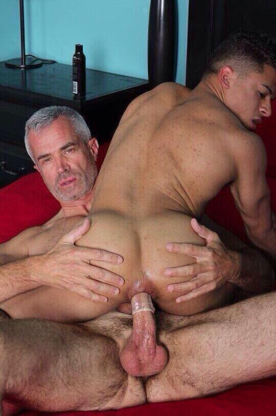 Skinny twink fucked by mature guy