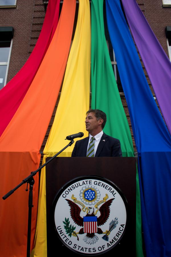 Today we celebrate diversity with an LGBT reception at the consulate in honor of Gay Pride Week  @we_are_proud http://t.co/Cm1JTP2ISa