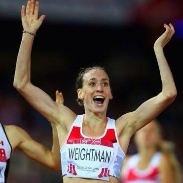 RT @ExtraMileme: Usain has his'to the world' pose,Mo has the Mobot,let's all do the Weightman 'W'!#proud @LauraWeightman @jarrowarrow http:…