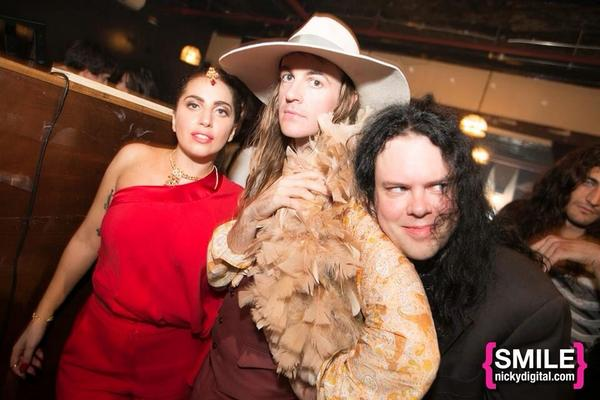 Here I am with my friends @ladygaga @BREEDLOVENYC last night at @RivingtonFB http://t.co/JEBOTPnP4B