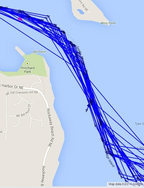 Ferry Tacoma info and current position on http://t.co/yxTXhGF1j6: https://t.co/DPPJVdNysa Drifting a bit, are we? http://t.co/vBUgFUT7PR