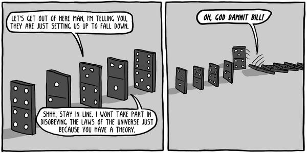 Determinism vs. Fatalism