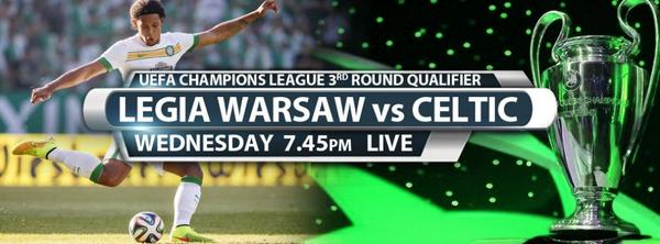 Legia Warsaw v Celtic: Predicted line ups for the Champions League qualifier