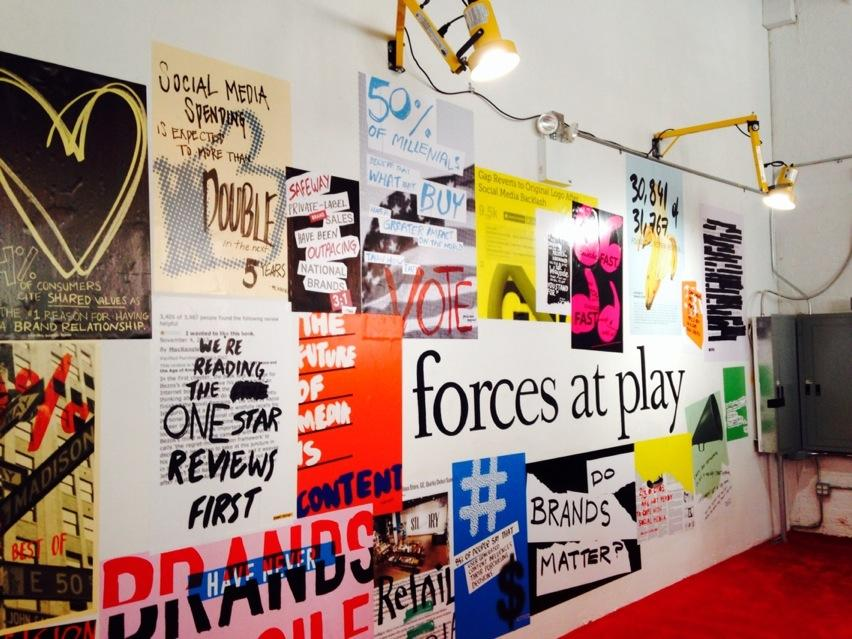 "Art in the @ogilvyny ""Kitchen"" -- a new space to #makebrandsmatter. http://t.co/UBncjZjLyL"