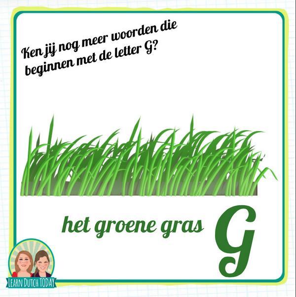 Learn Dutch Today On Twitter Ken Jij Nog Woorden Die Beginnen Met